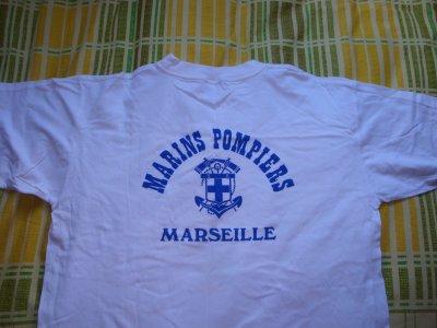 MAILLOT TENUE DE SPORT DU BATAILLON DE MARINS POMPIERS DE MARSEILLE