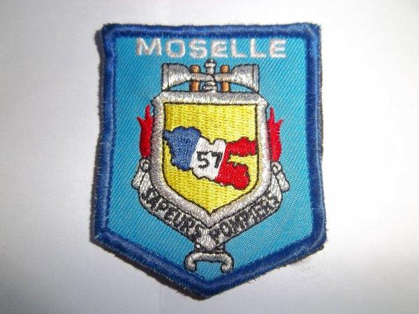 ÉCUSSON DÉPARTEMENTAL MOSELLE 57