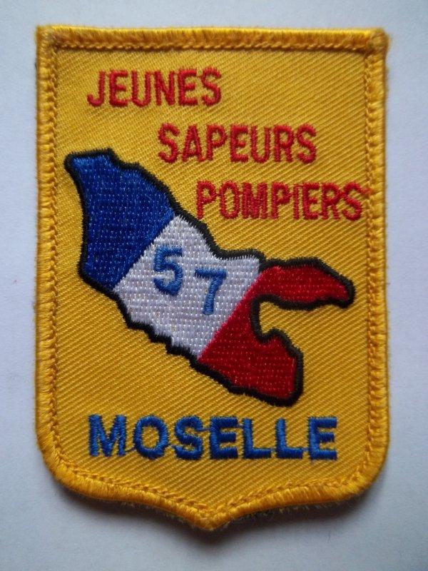 ECUSSON JEUNES SAPEURS-POMPIERS MOSELLE 57