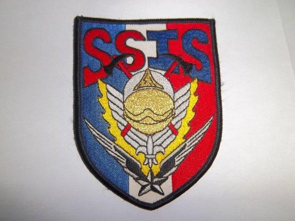 ECUSSON SAPEURS-POMPIERS SSIS COMPIEGNE OISE 60