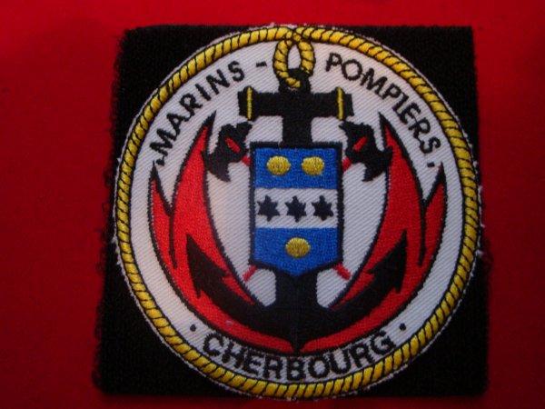 ECUSSON MARINS-POMPIERS CHERBOURG MANCHE 50