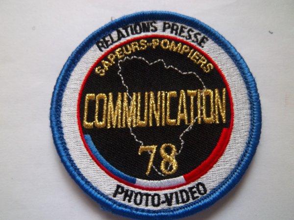 ECUSSON COMMUNICATION  SAPEURS-POMPIERS YVELYNES 78