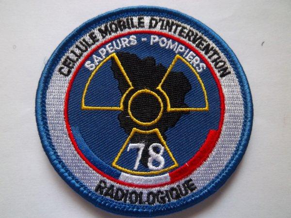 ECUSSON CELLULE MOBILE D'INTERVENTION RADIOLOGIQUE SAPEURS-POMPIERS YVELINES 78