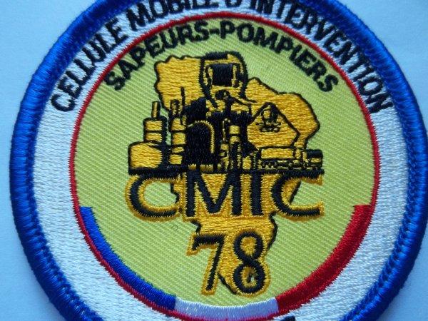 ECUSSON CELLULE MOBILE D'INTERVENTION CHIMIQUE SAPEURS-POMPIERS YVELINES 78