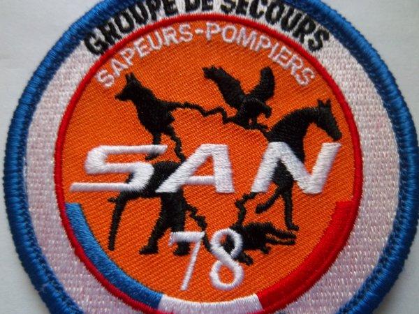 ECUSSON GROUPE DE SECOURS ANIMALIER SAPEURS-POMPIERS YVELINES 78