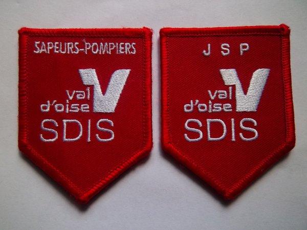 ECUSSON JEUNES SAPEURS-POMPIERS ET SDIS VAL D'OISE 95
