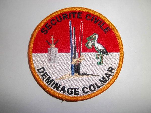 ECUSSON DEMINAGE COLMAR SECURITE CIVILE HAUT-RHIN 68