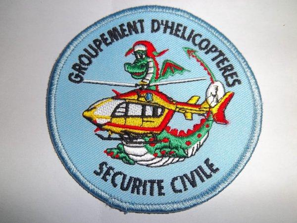 ecusson groupement helicopteres ec145 dragon securite civile blog du gyropharebleu. Black Bedroom Furniture Sets. Home Design Ideas