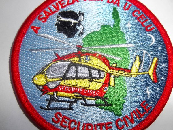 ECUSSON DRAGON SECURITE CIVILE CORSE