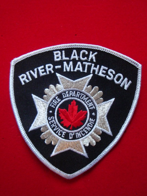 ECUSSON POMPIERS BLACK RIVER-MATHESON CANADA