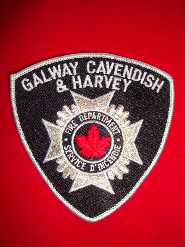 ECUSSON POMPIERS GALWAY-CAVENDISH CANADA