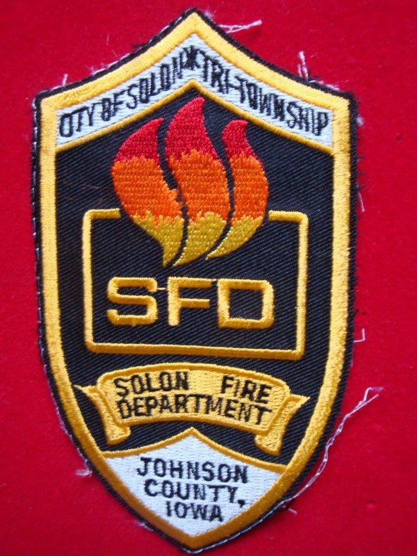 ECHANGE ECUSSON POMPIERS SOLON FIRE DEPARTEMENT (SFD) USA CONTRE POMPIERS FRANCAIS