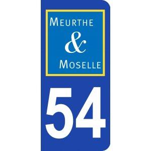 ECUSSONS ET INSIGNES DEPARTEMENT MEURTHE-ET- MOSELLE 54