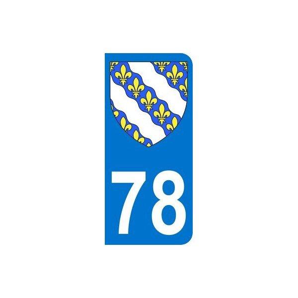 ECUSSONS ET INSIGNES DEPARTEMENT YVELINES 78