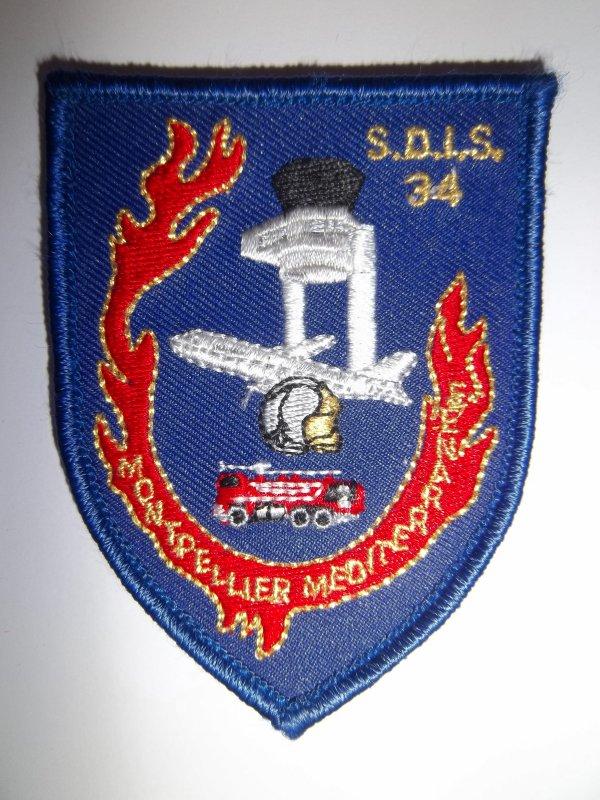 ECUSSON SDIS 34 MONTPELLIER HERAULT 34