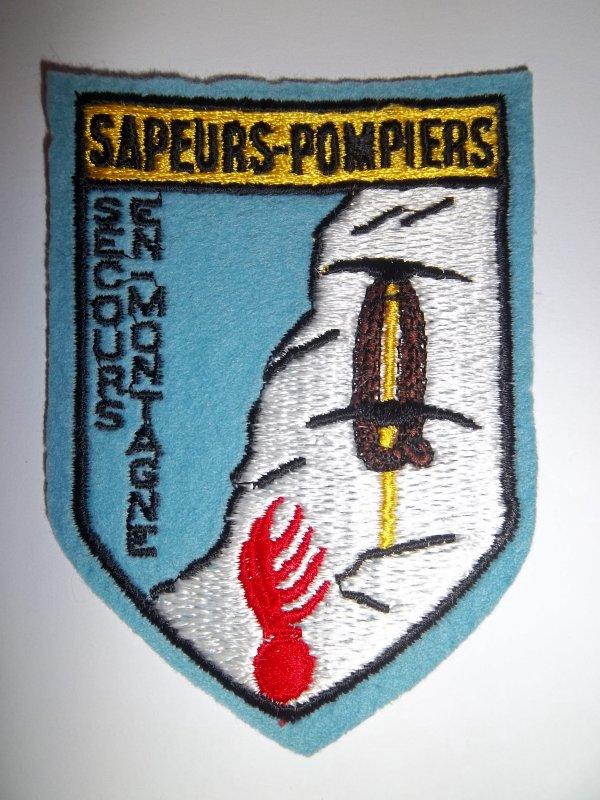 ECUSSON SAPEURS-POMPIERS SECOURS EN  MONTAGNE
