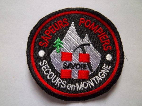 ECUSSON SAPEURS-POMPIERS SECOURS EN MONTAGNE SAVOIE 73