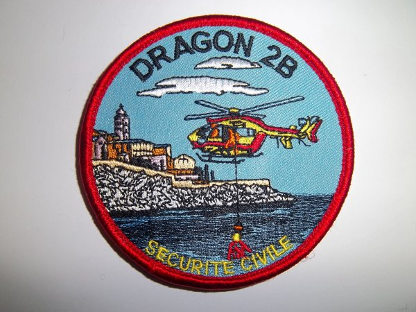 ECUSSON DRAGON HAUTE CORSE 2B