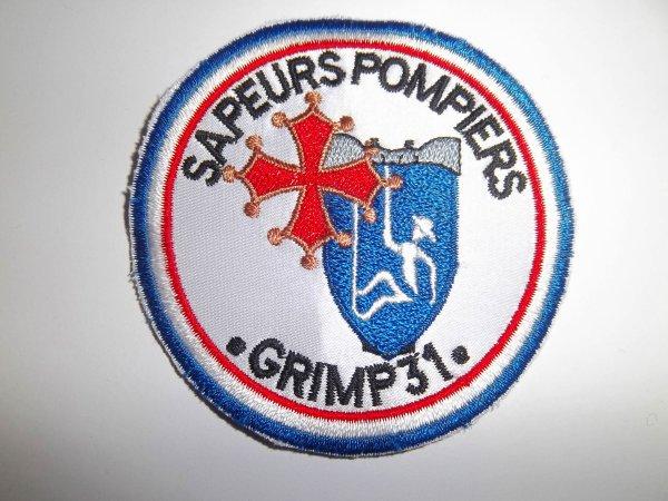 ECUSSON SAPEURS-POMPIERS GRIMP 31  HAUTE GARONNE