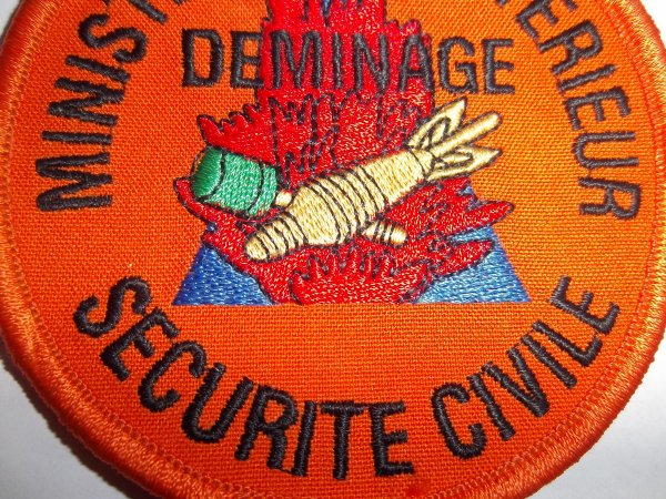 ECUSSON DEMINAGE SECURITE CIVILE