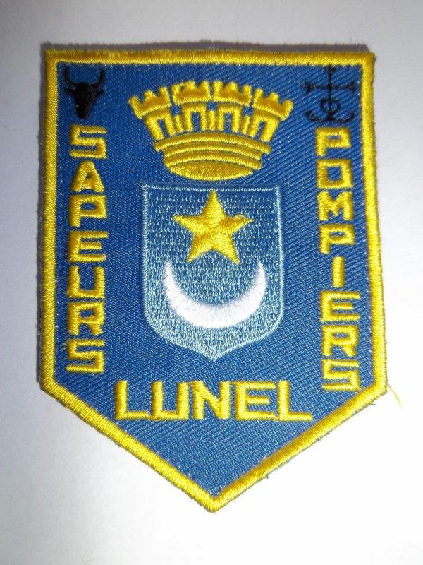 ECHANGE ECUSSON LUNEL DEPARTEMENT 34 CONTRE ECUSSON POMPIERS FRANCAIS