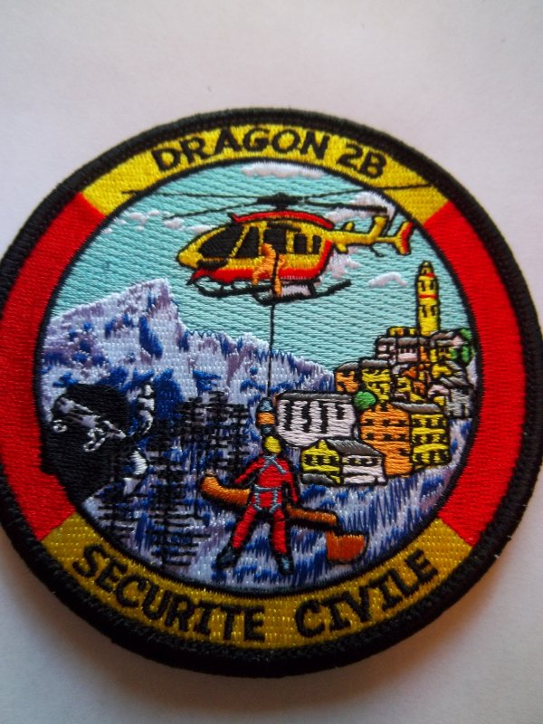 ECUSSON DRAGON 2B SECURITE CIVILE CORSE (MODELE 2013)
