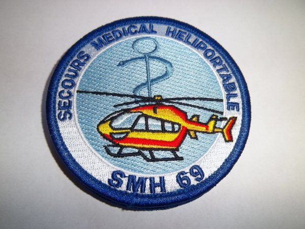 ECUSSON SECOURS MEDICAL HELIPORTABLE SMH69 RHONE