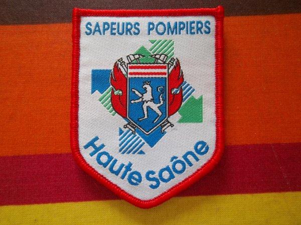 ÉCUSSON  DÉPARTEMENTAL HAUTE-SAÔNE 70