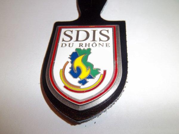 INSIGNE SDIS DU RHÔNE 69