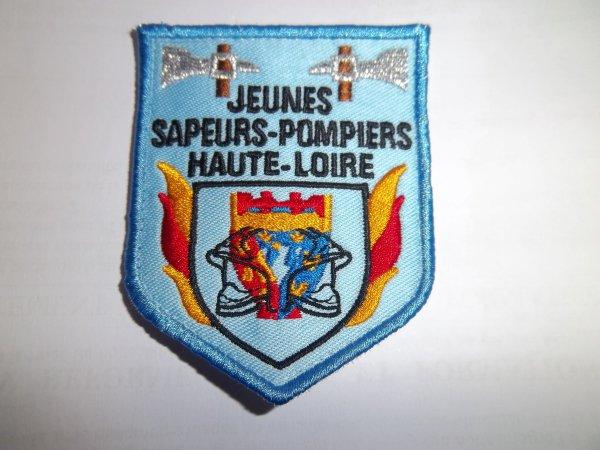 ÉCUSSON JSP  HAUTE-LOIRE 43
