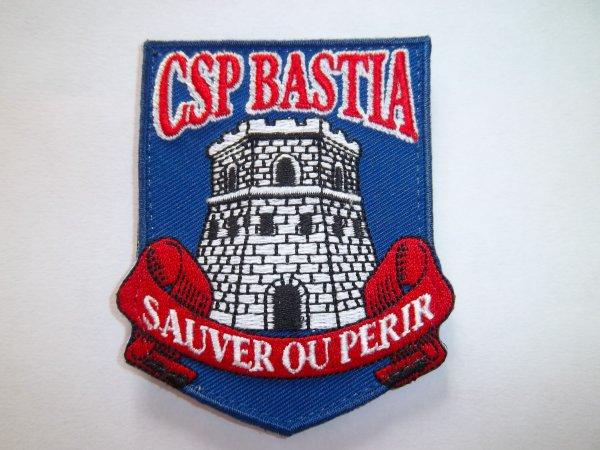 ÉCUSSON CSP BASTIA 2B