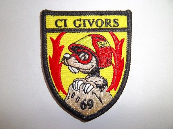ÉCUSSON GIVORS RHÔNE 69