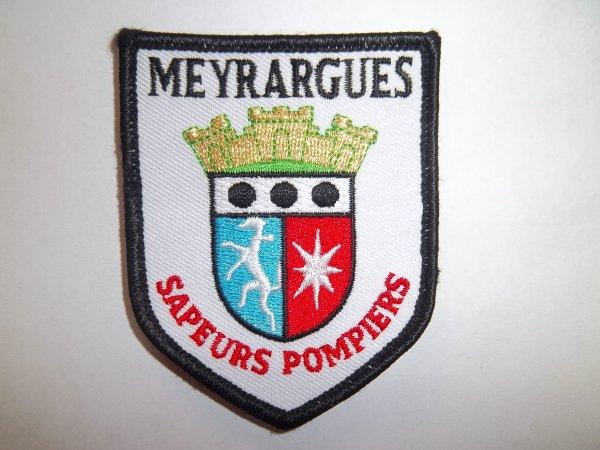 ÉCUSSON POMPIERS MEYRARGUES BOUCHES DU RHÔNE 13