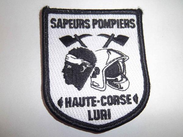 ÉCUSSON LURI HAUTE CORSE 2B