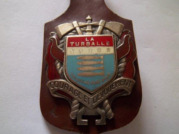 INSIGNE LA TURBALLE LOIRE ATLANTIQUE 44