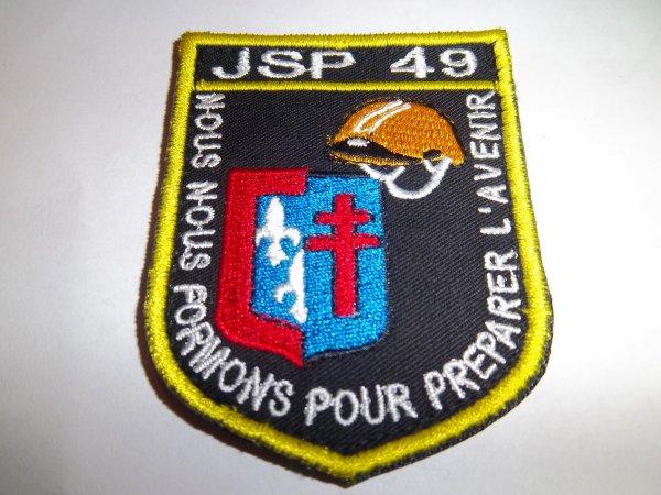 ÉCUSSON JSP MAINE ET LOIRE 49