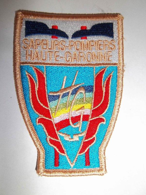 ÉCUSSON POMPIERS HAUTE-GARONNE 31