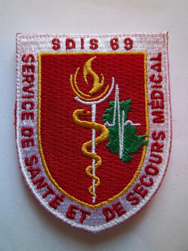 ÉCUSSON SSSM SDIS 69