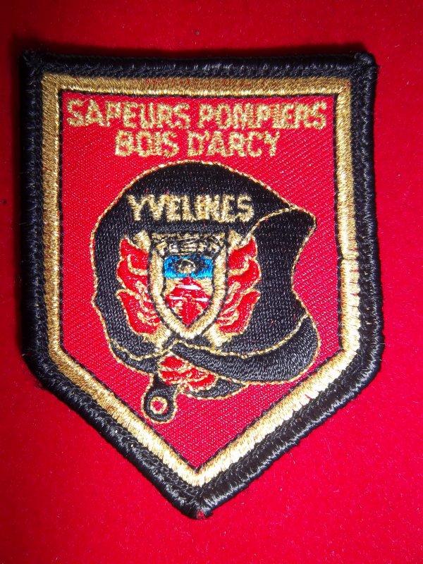 ÉCUSSON BOIS D'ARCY 78