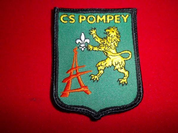 ÉCUSSON CS POMPEY 54