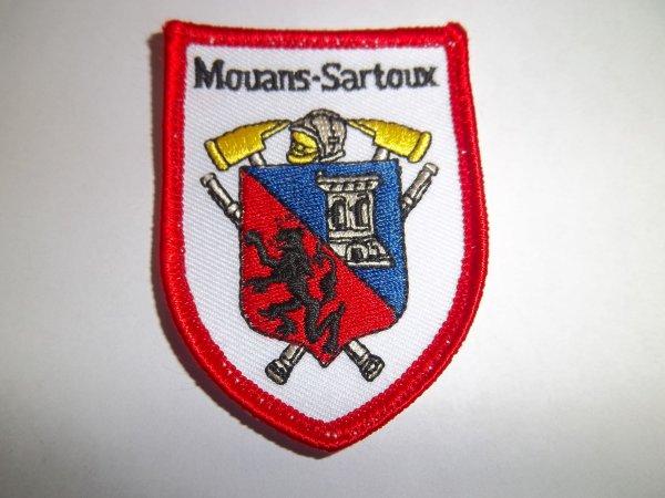 ÉCUSSON MOUANS SARTOUX 06