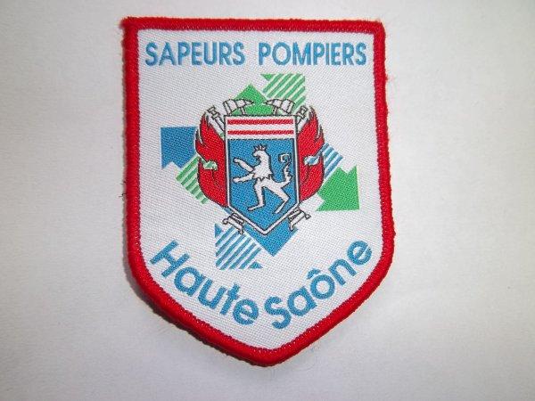 ECHANGE ÉCUSSON SDIS70 CONTRE AUTRE SDIS OU  ECUSSON POMPIERS FRANCAIS