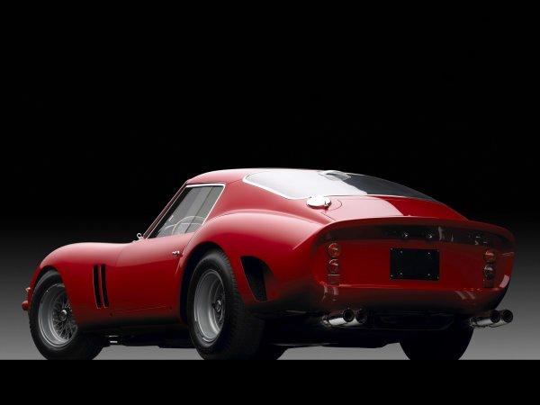FERRARI 250 GTO (1962 ->1964) DESSINE ET CONSTRUITE PAR SERGIO SCAGLIETTI A SEULEMENT 36 EXEMPLAIRES,CE GRAND CARROSSIER ETAIT UN AMI INTIME D' ENZO FERRARI !
