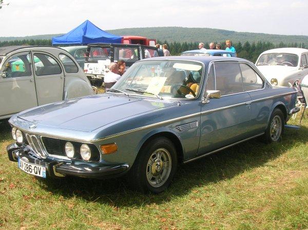 ...DE L ALLEMANDE AVEC CE SUPERBE COUPé BMW 30 CSi  DE 1972 DE 200 CVS !