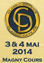 CALENDRIER, CLASSIC DAYS EN MAI 2014 .