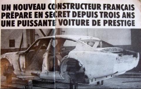 COMME UN CERTAIN SERGIO BERTONE,JEAN TASTEVIN REVE DE DEVENIR LE ROI DE LA GT FRANCAISE DE PRESTIGE  !  (page 689)