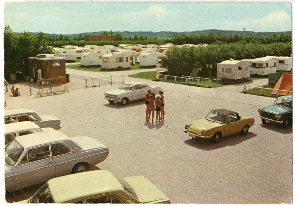 ....VACANCES DANS ANNEES 60 A COUDEKERQUE,OPEL,FORD,FIAT AU CAMPING ! !
