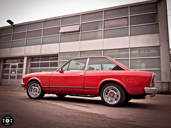 "FIAT 124 COUPé 1800 cc  "" SAUCE ABARTH ""  !"