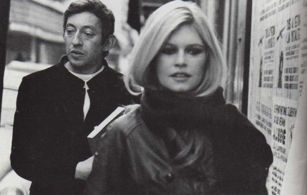 ANNEE 1967,SERGE GAINSBOURG ET BB ONT UNE LIAISON DE QUELQUES MOIS...