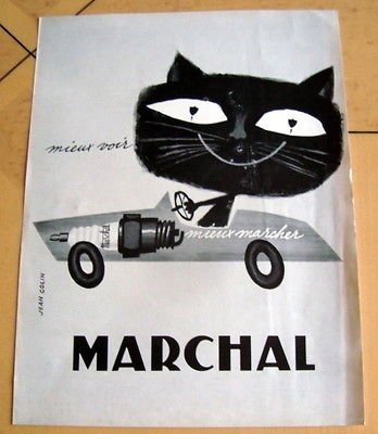 CHAT MARCHAL VERSION ANNEES 60 !